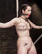 Hot Brunette in Orgasm Predicaments, pic #4