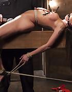 Big tit Brunette caught in brutal bondage, pic #10