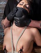 Sabrina Used and Abused in Hardcore Bondage, pic #13